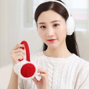 BU-Winter-Warm-Knitted-Earmuffs-Ear-Warmers-Muffs-Women-Earlap-Cover-Accessory