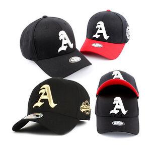 a17430d81017e Unisex Mens Stretch Fit Flexfit Baseball Cap Initial A Arizona Hats ...