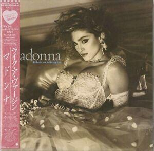 Madonna Like A Virgin 紙ジャケット仕様 Japan W/obi