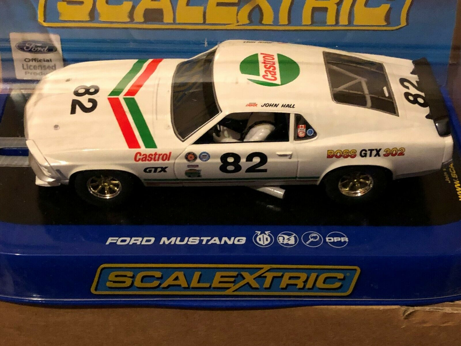Scalextric C3538 Ford Mustang 1969 Boss 302 GTX DPR
