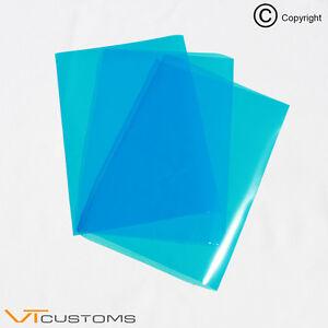 3-x-A4-sheets-Medium-Blue-Headlight-Tinting-Film-for-Fog-Lights-Car-Vinyl-Wrap