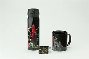 Starbucks-Giappone-Fragment-2017-Amkk-Scheda-Tumbler-Tazza-3-Set-Inox-Bottiglia