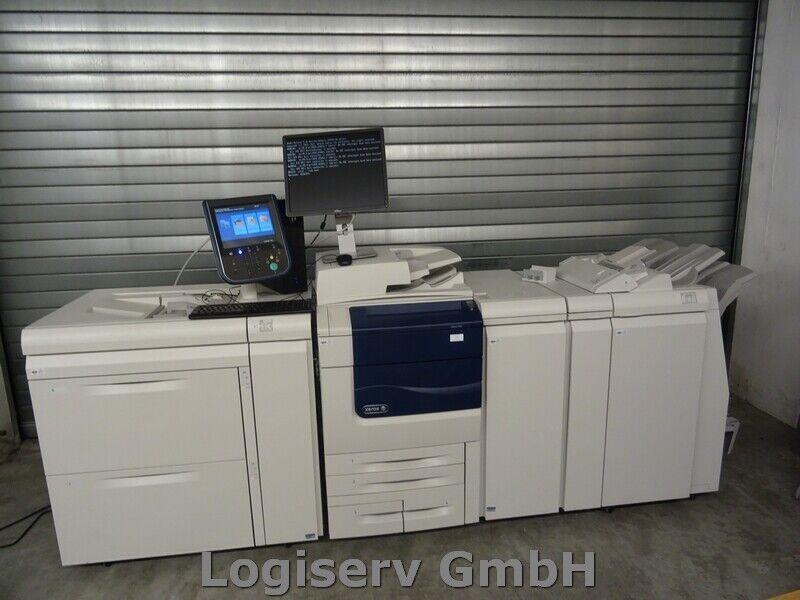 Bild 1 - Xerox Colour 550/560 Produktionsdrucker Digitaldrucksystem Druckmaschine Drucker