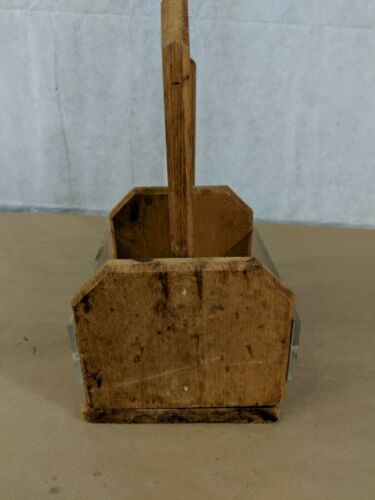 J9 Wooden Paper Towel /& Condiments Holder Carrying Gather Party Rustic