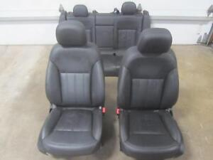 11-BUICK-REGAL-Front-Rear-Complete-Leather-Black-Seats-Seat-A51-Set-4-Way-APH