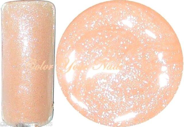 5 ml Shimmering Farbgel Aprikot. Farbgel/ Glittergel.Hochdeckend.Made in Germany