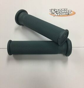 Pro Taper Full Diamond MX Grips Medium Dark Grey