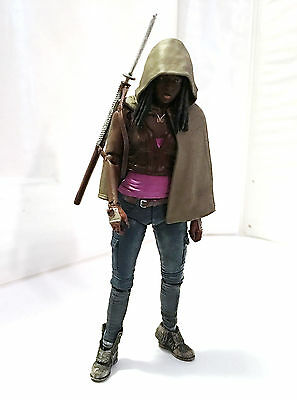 MICHONNE • SERIES 6 • C9 • 100% COMPLETE • McFARLANE THE WALKING DEAD