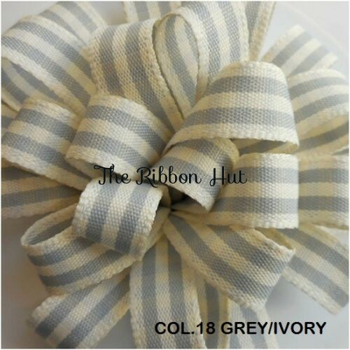 Rustic Gingham//Checkered//Plaid Ribbon-Berisfords-7mm//15mm//25mm-Per Metre