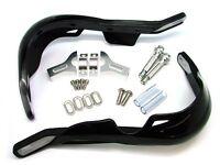 Black Hand Guards For Yamaha Yz Xt Tt 350 500 600 Ttr 225 Grizzly 660 700 Raptor on Sale
