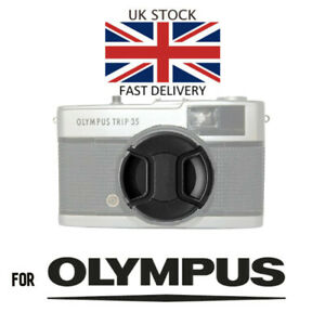 Olympus-Trip-35-Lens-Cap-mit-Kordel-amp-Flash-Shoe-Cover-Brandneu-Schnell-UK-Post
