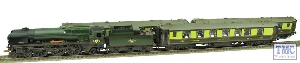 R3400 Hornby OO gulden Arrow Last Steam Run begränsad -Coal, Glozed, Weatherd