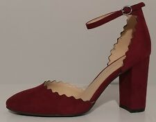 dc1900a92ca6 item 8 NEW!! Marc Fisher Maroon Red Suede Sandals 3.5