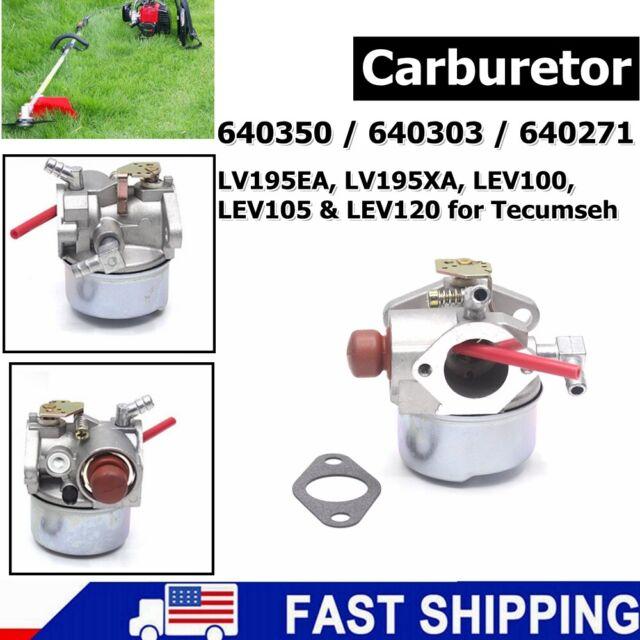 TECUMSEH CARBURETOR FITS MODELS LV195XA-362090E LV195XA-362091E LV195XA-362093E