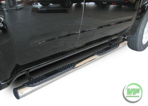 SB326 Trittbretter SCHWELLERROHRE für NISSAN PATHFINDER R51 2005-12 Ø 76mm