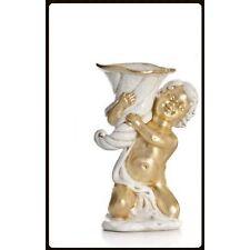 Engelfigur - Verziert mit Blattgold- Handarbeit aus Italien