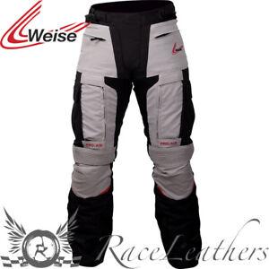 WEISE-DAKAR-HOMBRE-IMPERMEABLE-Stone-Touring-Moto-Pantalones
