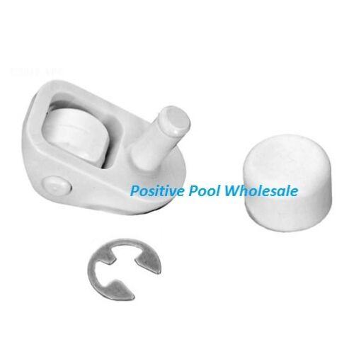 Jandy Ray-Vac Swimming Pool Cleaner Swivel Wheel Kit White R0379100