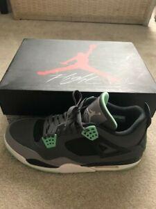 on sale de8c4 20928 Details about Air Jordan Green Glow 4 size 13