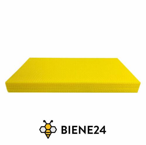 1 KG Mittelwände Waben Bienen Wachs für Imker Alle Größen Zander DNM Dadant
