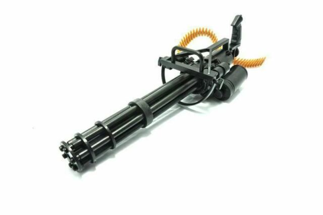 1 6 Scale M134 Minigun Gatling Machine Gun Us Army Terminator Fit For 12