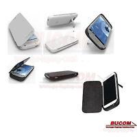 Fü Samsung Galaxy S4 Ladeschale Battery Zusatz Akku mobile Ladegerät Flipcase