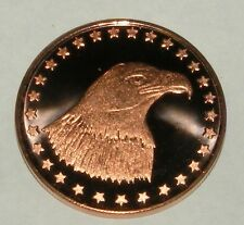 2012 American Eagle Head One Ounce .999 Pure Copper Coin