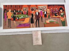 Josh Agle Opening Gala Museum print SHAG ART Modern Midcentury PALM SPRING
