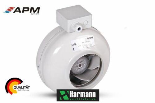 Harmann Ø 100 125 150 160 200 Rohrventilator Rohrlüfter Ventilator Metall