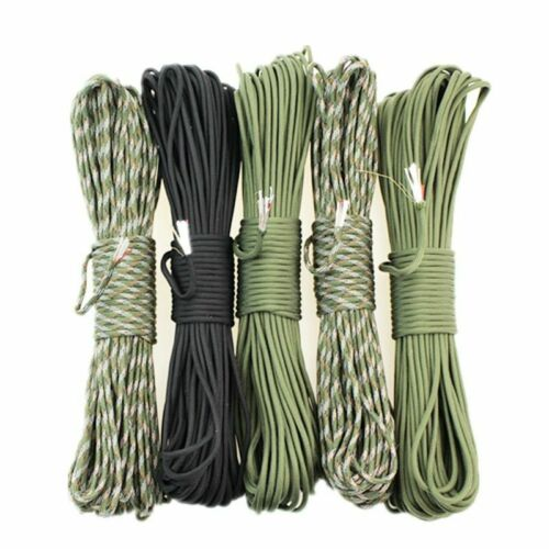 Survival 550 Paracord Multifunction Fire Making With Fishing Line Tinder Kit
