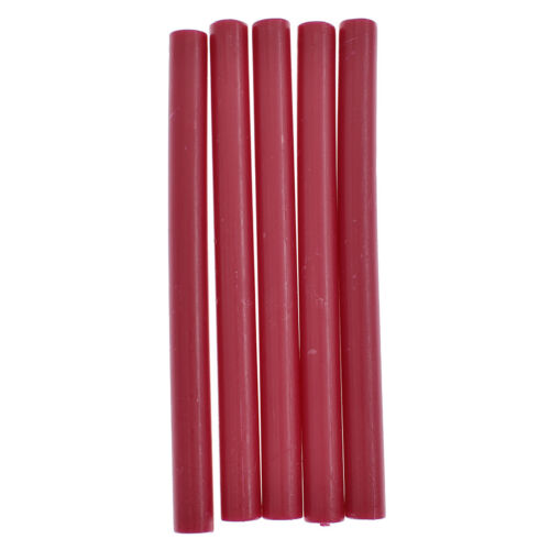 5 Pcs Sealing Wax Candle Stick Stamp Melting Letter for Wedding Invitation Cards