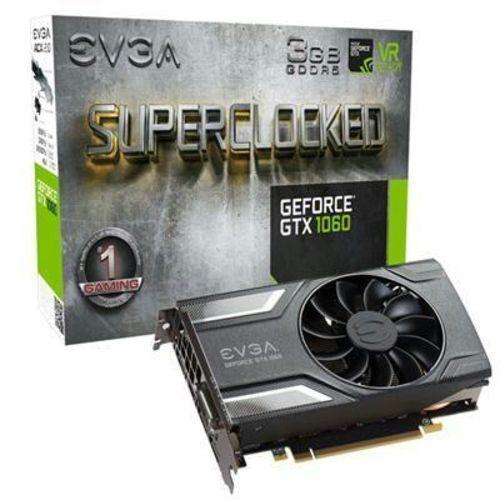 Graphics Card 3GB EVGA GeForce GTX 1060 SC