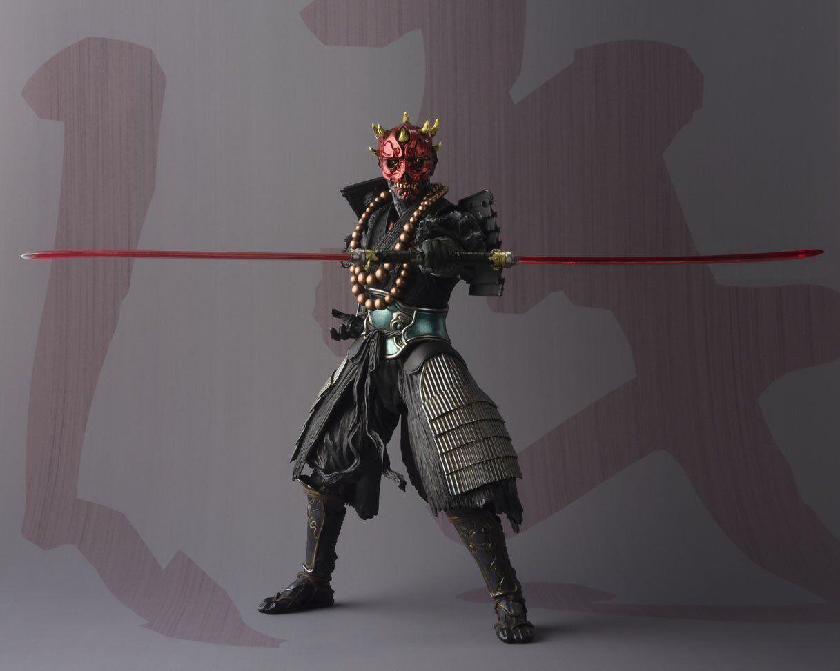 BANDAI Meishou MOVIE REALIZATION Priest Darth Maul Star Wars 190mm Action Figure