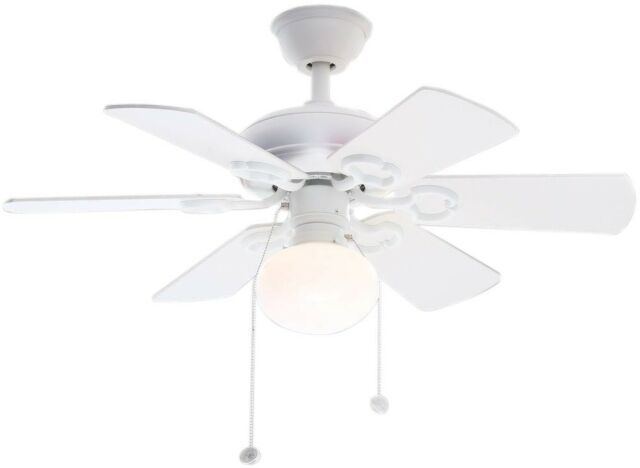 Hampton bay minuet iii 36 inch small room ceiling fan with light kit hampton bay ceiling fan light kit 36 inch indoor reversible blade small white aloadofball Image collections