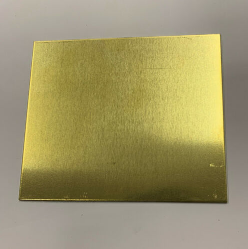 Brass sheet Models making jewellery making various sizes various thickness