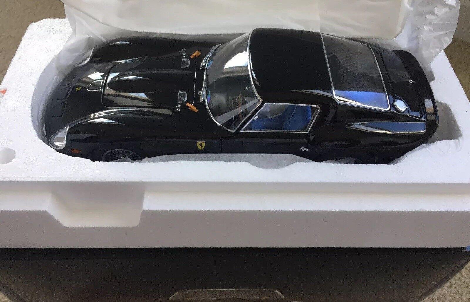 calidad fantástica 1 18 18 18 Kyosho Ferrari 250 Gto Negro Raro Agotado  costo real