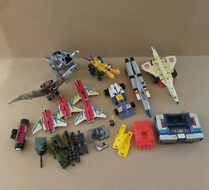 Transformers G1 Lot Parts Repair Soundwave Starscream Grimlock Swoop Brawl