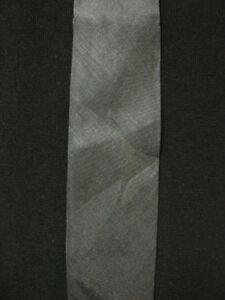 VINTAGE-1960-039-S-NARROW-DARK-BLUE-POLY-DARK-GREY-DGB-LABEL-TIE