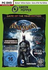 Batman: Arkham Asylum - Game of the Year Edition - PC - deutsch - Neu / OVP