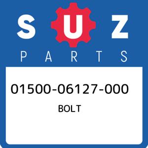 01500-06127-000-Suzuki-Bolt-0150006127000-New-Genuine-OEM-Part