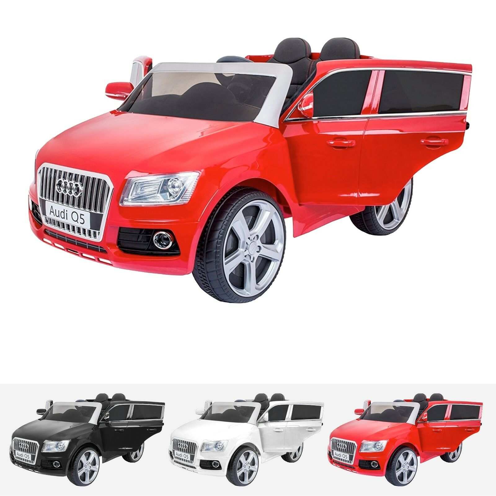 Kids Licensed Audi Q5 S Line 12V Electric Motor Battery Battery Battery Operated Ride On Car b87281