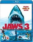 Jaws 3 5053083077037 With Dennis Quaid Blu-ray Region B