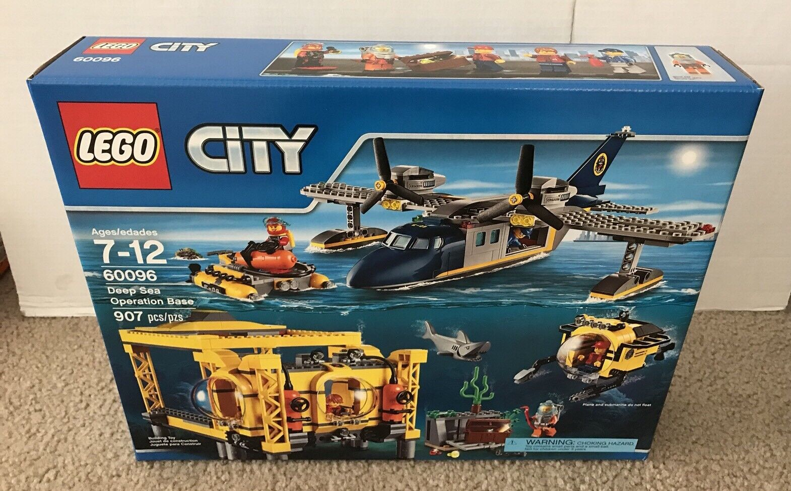 LEGO City Deep Sea Operation Base (60096) Brand New & Sealed