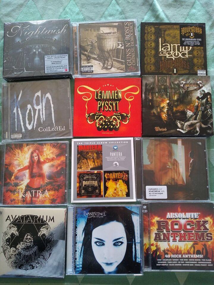 fx: Nightwish, Evanescence, Korn