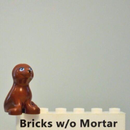 New Genuine LEGO Reddish Brown Seal Friends 41094 Animal