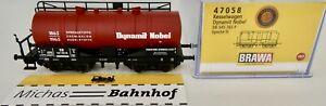 Dynamit-Nobel-Wagon-Citernes-DB-Epiii-Brawa-47058-H0-1-87-Neuf-Emballage-HG4