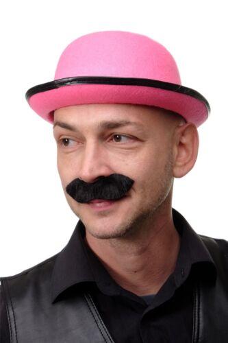 Jahrhundert Zirkusdirektor MM-74 Karneval Halloween Bart Schnurrbart schwarz 19
