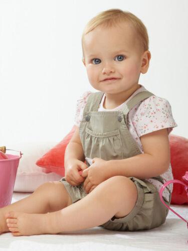 3PCS Toddler Baby Girls T-shirtsTops Suspender pants belt Clothes Sets
