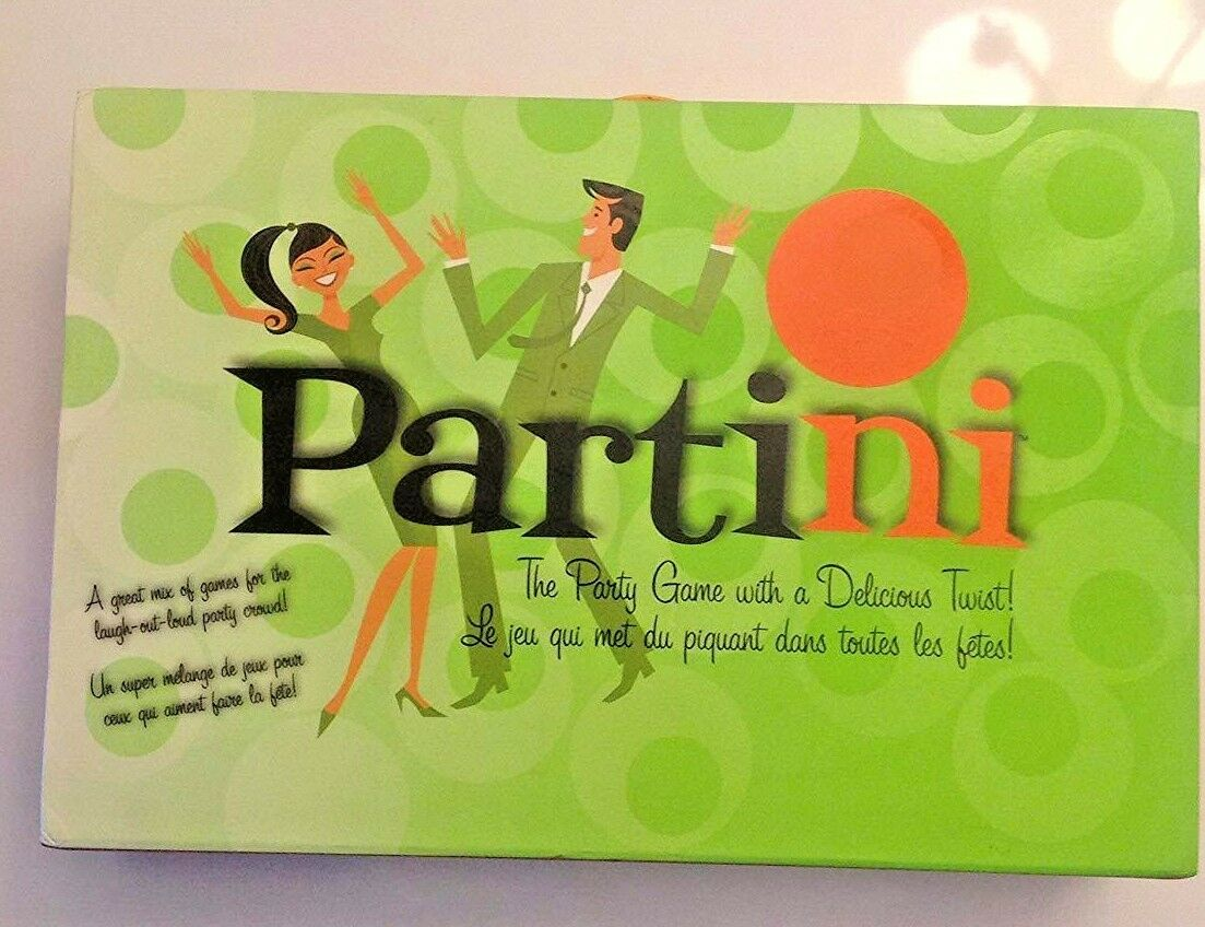 Partini Game Parker Bredhers 2008 UNOPENED