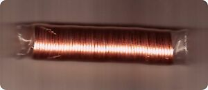 Canada 2010 Logo Non-Magnetic Original Mint Wrapped Roll of Pennies!!